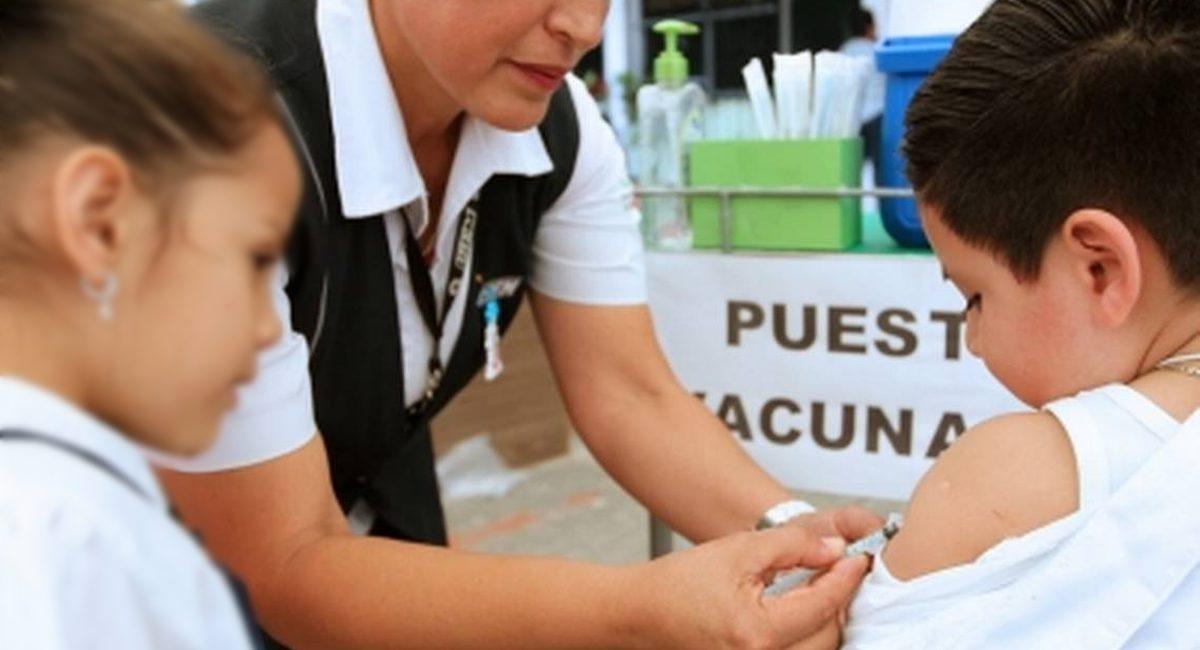 vacunacion niños mexico