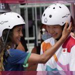 Niña de 13 años gana oro en Skateboarding