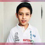 Rodrigo Saldívar gana el oro en competencia de matemáticas