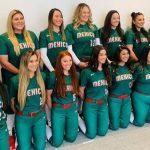 Selección mexicana de softbol se prepara para los JO 2020